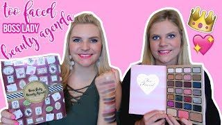 Too faced boss lady beauty agenda | swatches + review