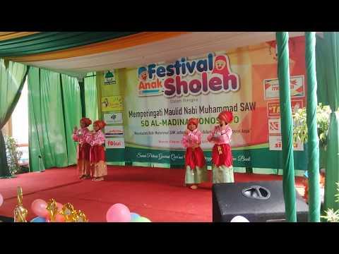Tari Islami anak TK, lomba tari TK (Dance for Children)