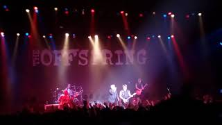 """The Offspring arrives on stage and the evening party begins with """"A..."""