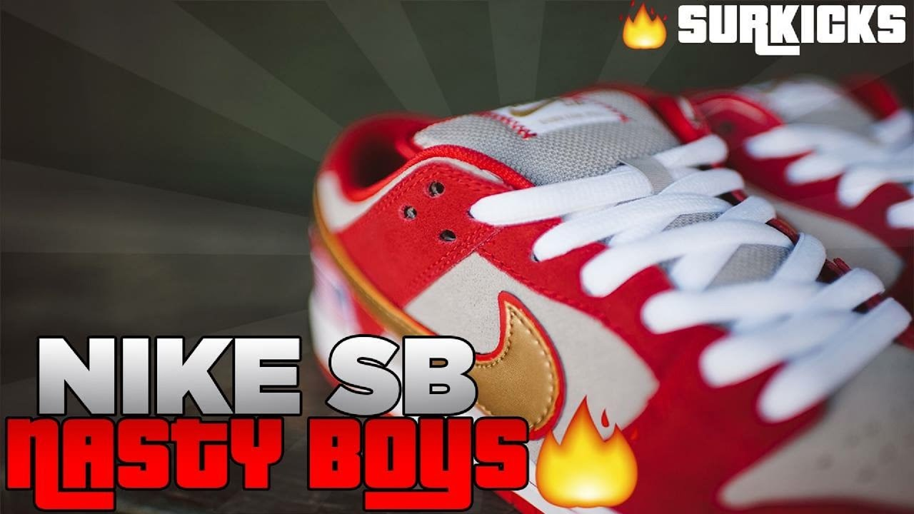 newest 70587 192ad Nike sb Nasty Boys review