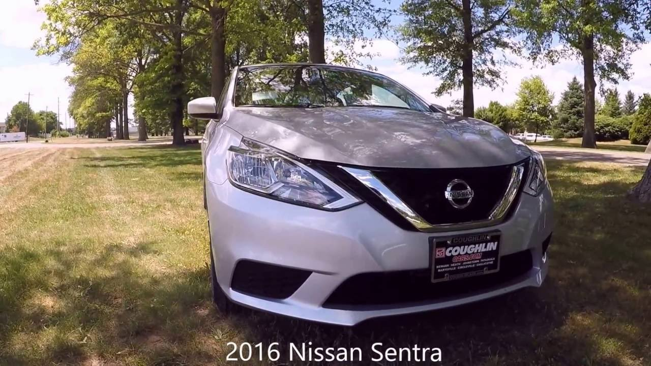 2016 nissan sentra sv review and tour youtube. Black Bedroom Furniture Sets. Home Design Ideas