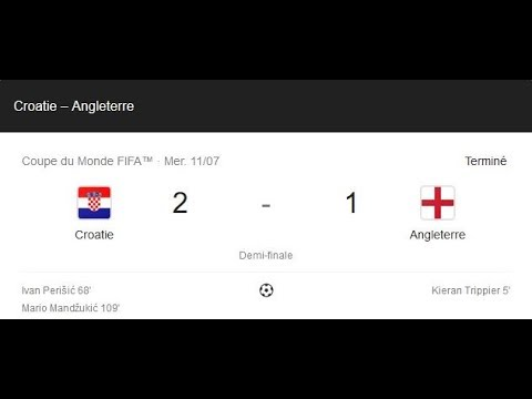 Croatie Angleterre Mondial Russie Le fair-play à la British !