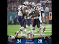 Patriots win Super Bowl 51 against the falcons 34  to 28