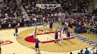 NBA 2K9 - Lakers vs Cavs