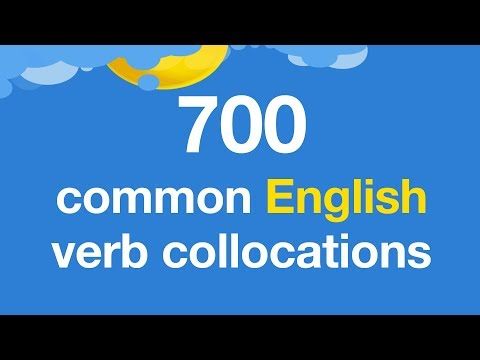700 common English verb collocations