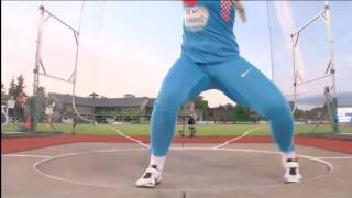 Eugene 2016: Women´s Discus  - Top 3