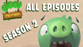 Angry Birds | Piggy Tales | Pigs at Work - All Episodes Mashup - Season 2