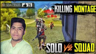Download Mp3 1 Vs 4 Killing Montage || Fester Killing Montage || Free Fire Battleground