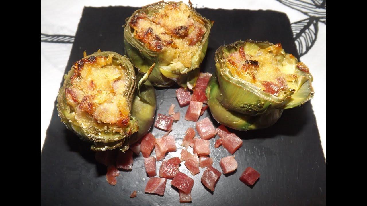 Alcachofas rellenas de jamon serrano tu cocina en casa - Arroz con alcachofas y jamon ...