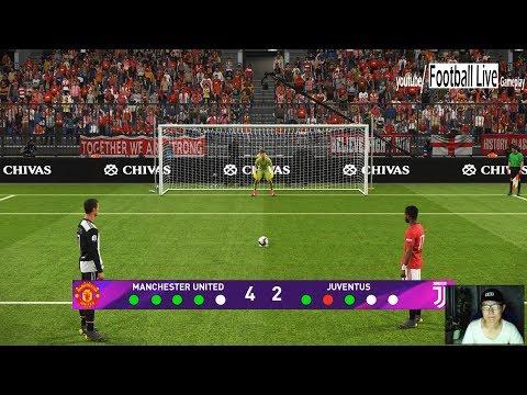 PES 2019 | Penalty Shootout | Manchester United vs Juventus