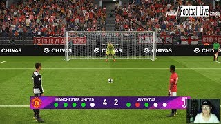Download Video PES 2019 | Penalty Shootout | Manchester United vs Juventus MP3 3GP MP4