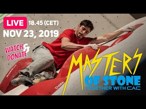 Masters Of Stone 2019 With Jessy Pilz, Alex Megos, Melissa Le Nevé And Others