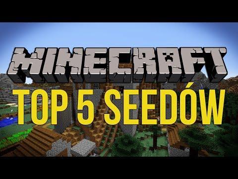 Top 5 Seedów #3 - Najmniejszy Ocean W Minecraft? +Górskie Wioski [1.12]