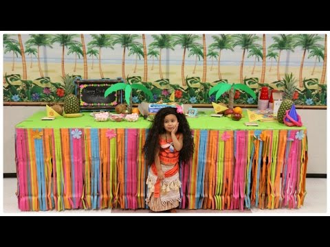 VLOG: FIESTA DE CUMPLEAÑOS DE GABBY/MOANA BIRTHDAY theme party! (How to be alma)