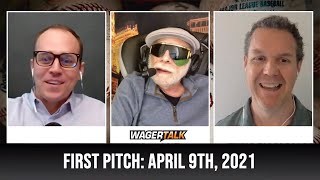 MLB Picks and Predictions | Free Baseball Betting Tips | WagerTalk's First Pitch for April 9