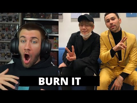 WHAT a DUO! Agust D Burn It (feat. MAX) D - 2 - Reaction