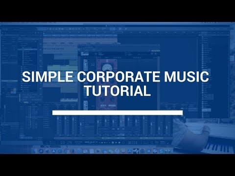 Simple Corporate Music Tutorial - Live Music Composing With Olexandr Ignatov