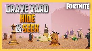 Graveyard Hide and Seek in Fortnite Creative! | Swiftor