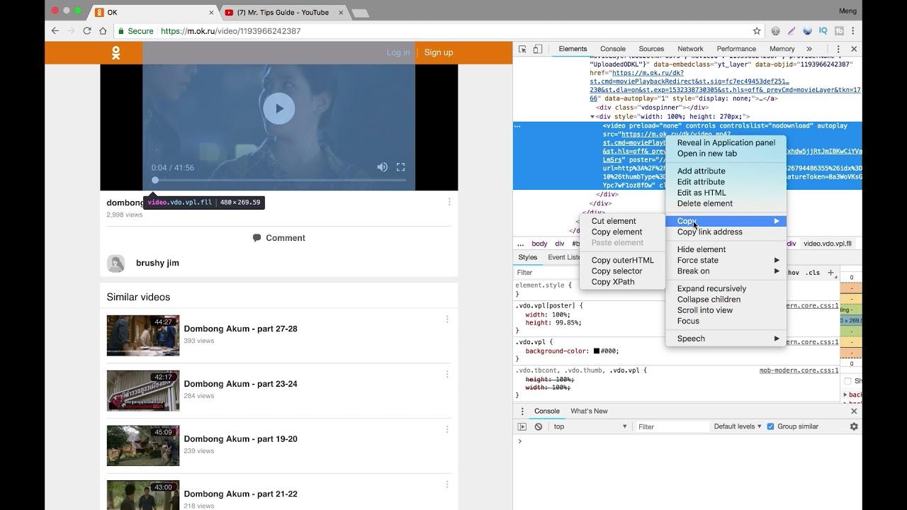 How to add a link to Odnoklassniki 79