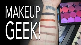 UNEDITED! MAKEUP GEEK COSMETICS   WHATS THE FUSS ABOUT?