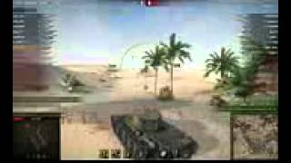 Т 44, Песчаная река, Встречный бой