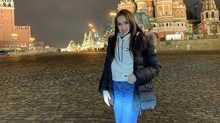 Алина Загитова сфотографировалась на фоне Спасской башни и собора Василия Блаженного