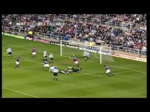 Newcastle 4-3 Aston Villa 1996-97 (Yorke hat-trick)