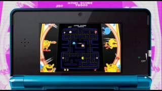 PAC-MAN & Galaga DIMENSIONS - N3DS - Pac-Man and Galaga Origins
