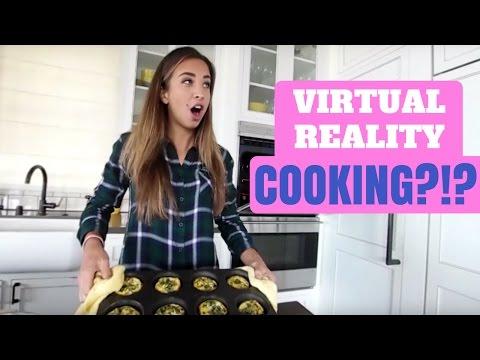 COOKING IN 360 VIRTUAL REALITY!! | Meal Prep Breakfast
