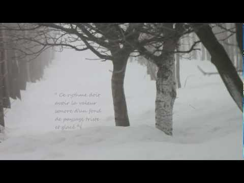 Footprints in the Snow / Des pas sur la neige - Preludes, Book 1, No. 6, Debussy