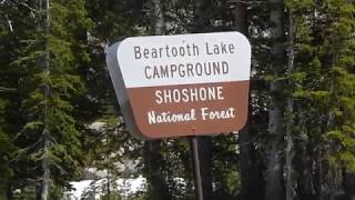 Beartooth Lake Campground (YELLOWSTONE AREA) - Shosone National Forest - Wyoming