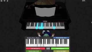 Billie Eilish - listen before I go - Roblox Piano