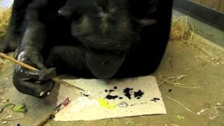 Santino The Chimpanzee & The Artist