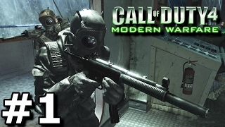 Call Of Duty 4 Modern Warfare (Hindi) Walkthrough Part 1 - Crew Expendable (PC Gameplay)