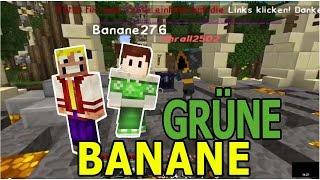 Minecraft Server Vorstellung mit Grüne Banane