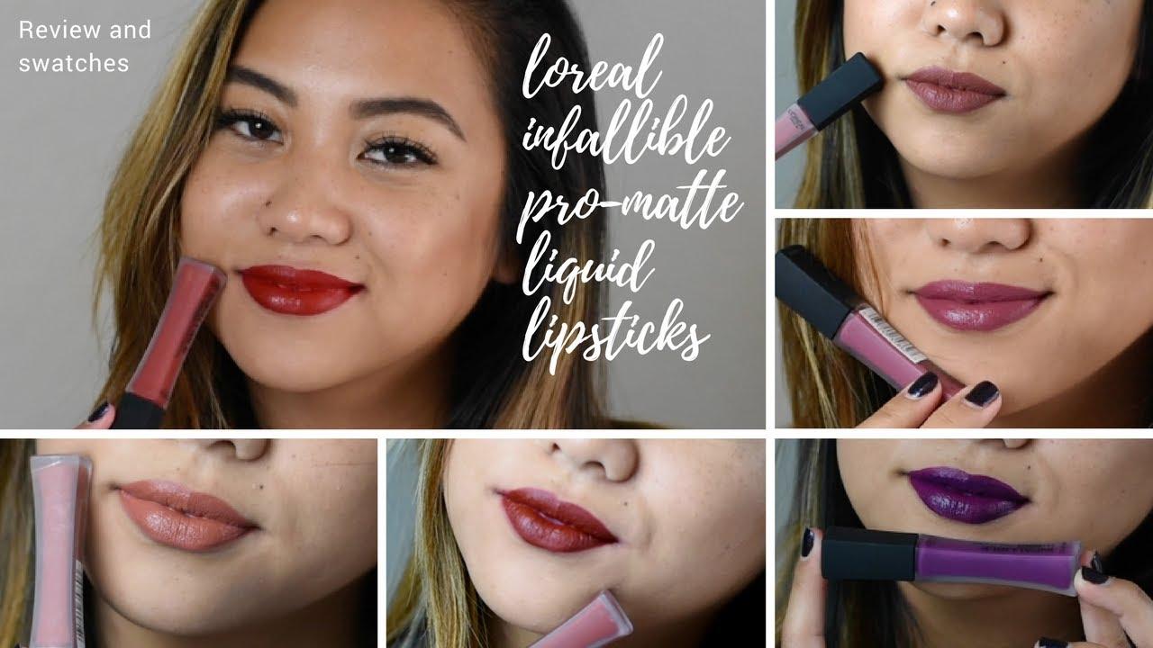LOreal Paris Infallible Pro-Matte Liquid Lipstick, Matador