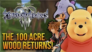 Kingdom Hearts 3 - The 100 Acre Wood Returns! (Story Discussion, World and Mini-Games)