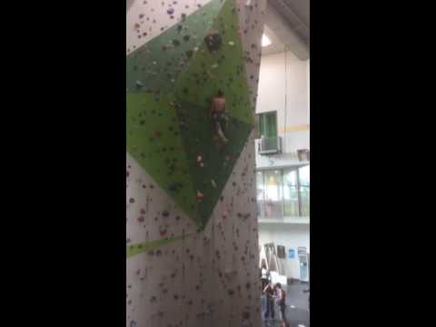 Elvin Musovic Climbing 7c Nordwandhalle