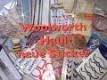 Woolworth Haul (September 2016) deutsch, Sticker, Bastelsachen und Co.
