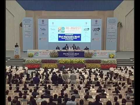 PM Modi inaugurates RE-Invest 2015, the first Renewable Energy Global Investors' Meet and Expo