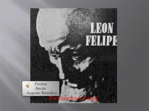 Leon Felipe Perdon