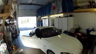 HONDA S2000 hard top removal