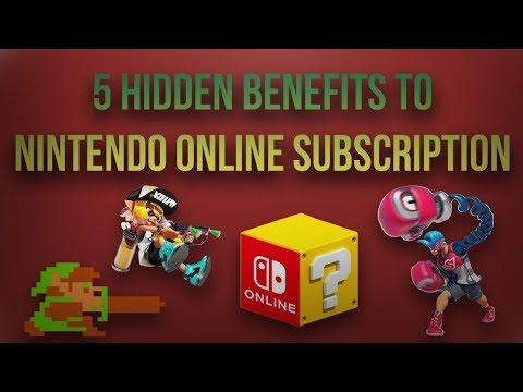 5 Hidden Benefits to Nintendo Switch Online Membership