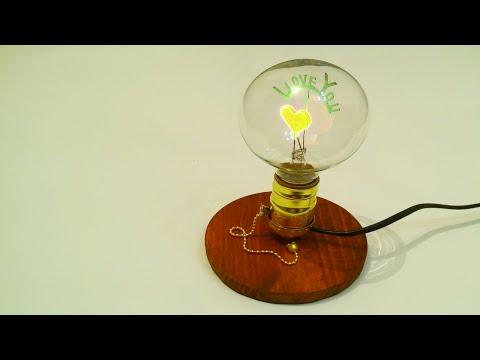 #diywoodlamp #woodlamp  I Love You - DIY Wood Lamp | wood lamp | diy lamp
