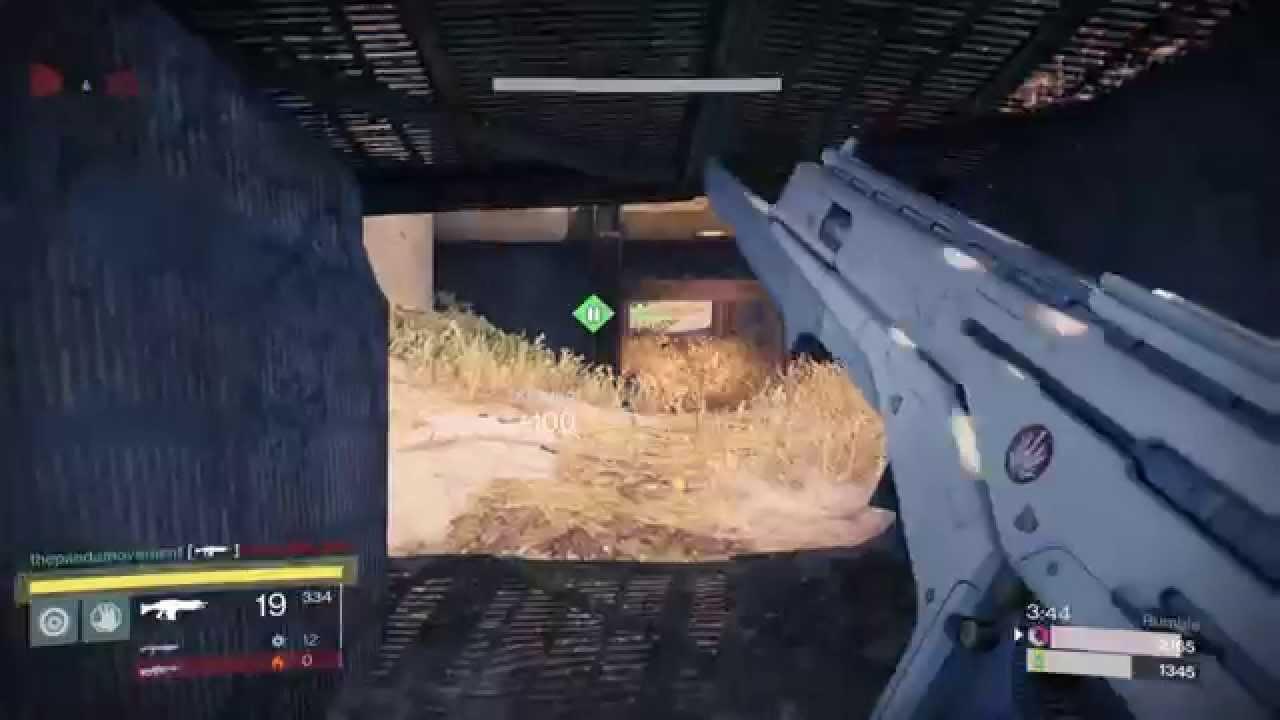 ps4 destiny monte carlo exotic auto rifle gameplay youtube