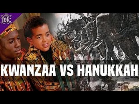 The Israelites:  Kwanzaa vs Hanukkah