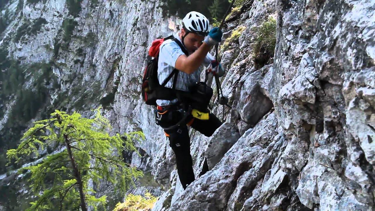 Klettersteig Ehrwald : Seeben klettersteig youtube