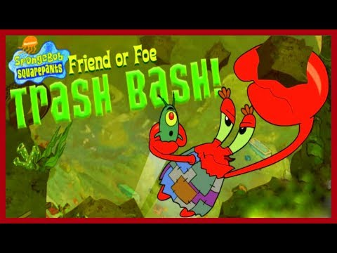 Spongebob Squarepants Friend Of Foe Trash Bash | Best Games VK