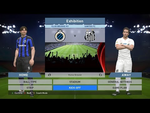 Club Brugge KV vs Santos FC, Jan Breydel Stadion, PES 2016, PRO EVOLUTION SOCCER 2016