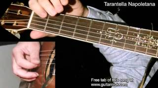 Tarantella Napoletana + TAB! Acoustic guitar lesson, learn to play